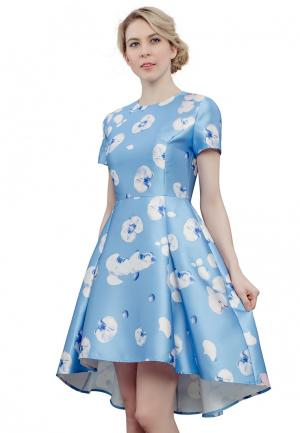Платье Cavo. Цвет: голубой