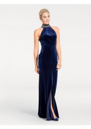 Вечернее платье ASHLEY BROOKE by Heine. Цвет: темно-синий