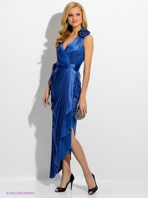 Платье X'Zotic. Цвет: синий