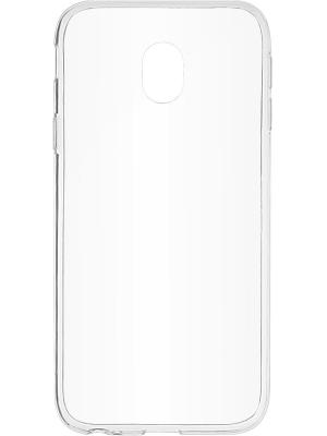 Накладка skinBOX slim silicone для Samsung Galaxy J3 (2017). Цвет: прозрачный