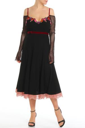 Платье Mariella Burani. Цвет: черный