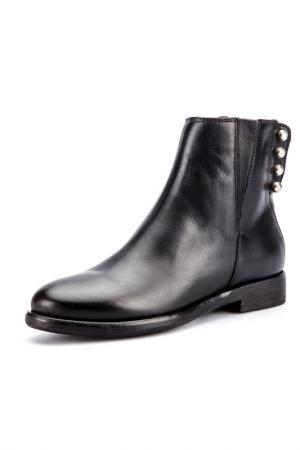 Ботинки Fabrica Morichetti. Цвет: черный