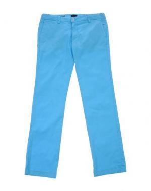 Повседневные брюки BARNUM. Цвет: лазурный