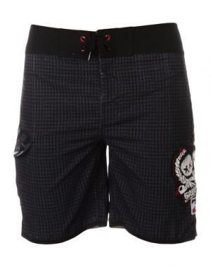 Пляжные брюки и шорты BILLABONG. Цвет: черный
