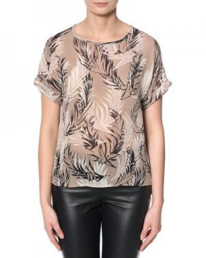 Блузка InWear. Цвет: светло-коричневый