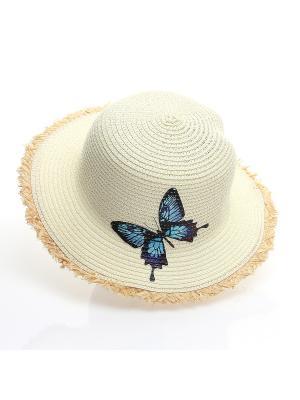 Шляпа Jane Flo. Цвет: молочный