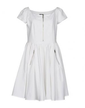 Короткое платье PAULIE. Цвет: белый