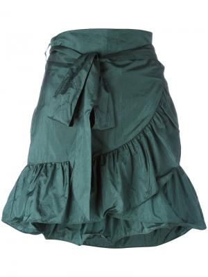 Мини-юбка Aurora Isabel Marant. Цвет: зелёный