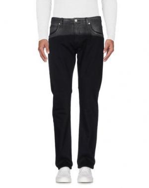 Джинсовые брюки HELMUT LANG. Цвет: черный