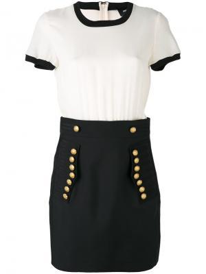 Декорированная юбка Dsquared2. Цвет: чёрный