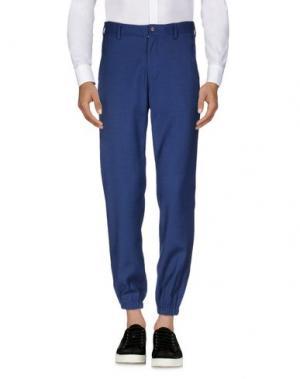 Повседневные брюки OPENING CEREMONY. Цвет: синий