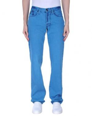 Джинсовые брюки ENERGIE. Цвет: лазурный