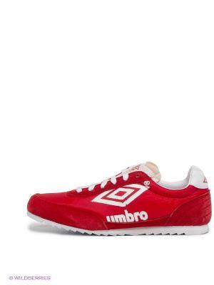 Кроссовки Umbro. Цвет: красный, белый