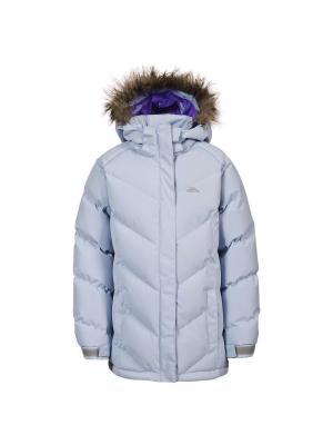 Куртка Trespass. Цвет: светло-голубой