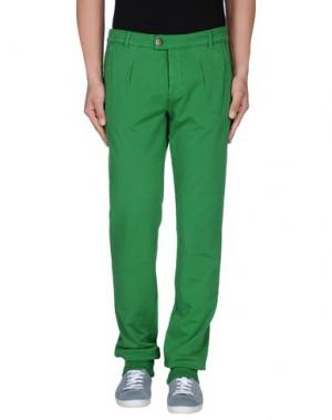 Повседневные брюки PRAIO. Цвет: зеленый