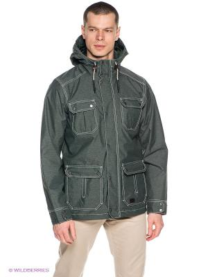 Куртка KATORO TEXAPORE JKT M Jack Wolfskin. Цвет: хаки
