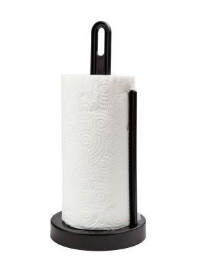 Держатель для бумажных полотенец Solo (черный) Berossi. Цвет: черный