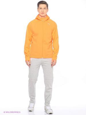 Куртка NightCat Storm Jkt Puma. Цвет: оранжевый