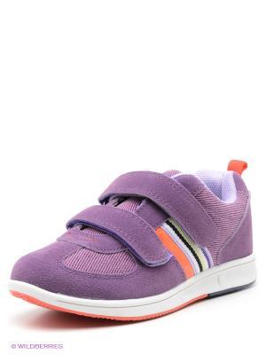 Кроссовки Escan. Цвет: фиолетовый
