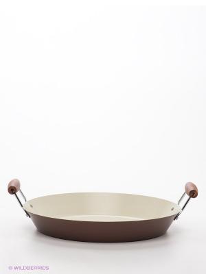 Cковорода, 38см Winner. Цвет: коричневый