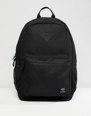 Diamond Supply Рюкзак. Цвет: черный