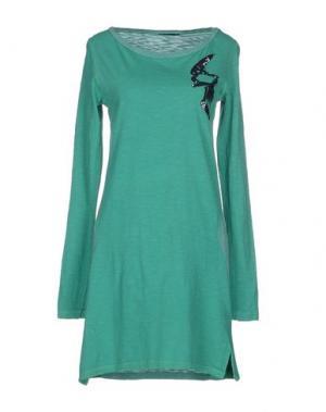 Короткое платье RA-RE. Цвет: зеленый