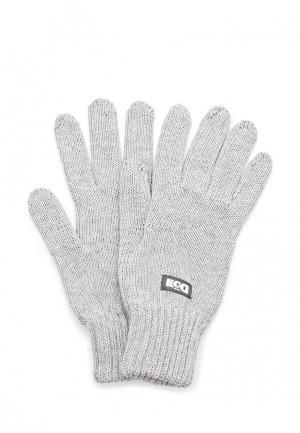 Перчатки Doll. Цвет: серый