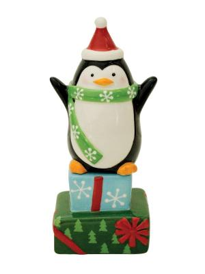 Набор: солонка и перечница Merry Penguin BOSTON. Цвет: черный