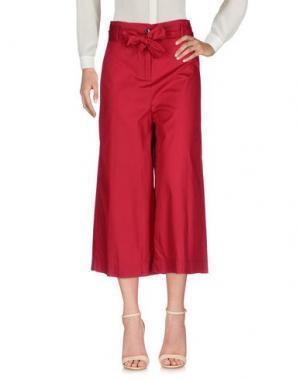 Повседневные брюки VICOLO. Цвет: кирпично-красный