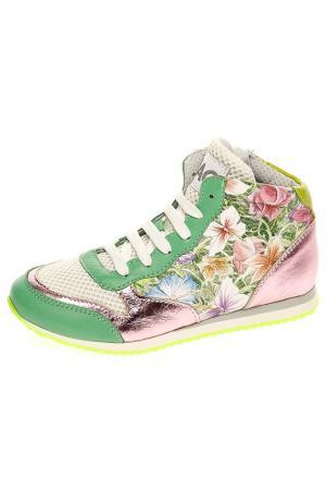Ботинки CIAO. Цвет: зеленый