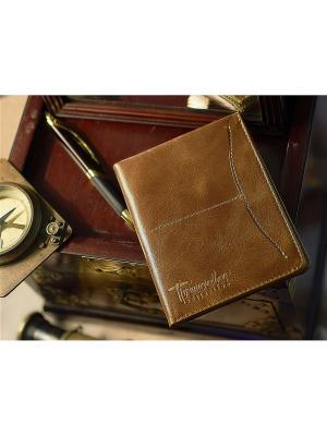Органайзер/бумажник Вектор. Цвет: светло-коричневый