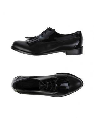 Обувь на шнурках GIONATA. Цвет: черный