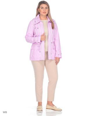 Ветровка SML. Цвет: розовый