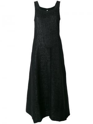Расклешенное платье миди Boboutic. Цвет: чёрный