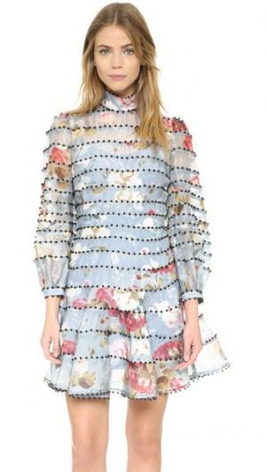 Платье Havoc Bead Zimmermann. Цвет: цветочный