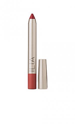 Губная помада lipstick Ilia. Цвет: красный