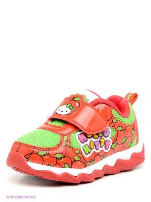 Ботинки Kakadu. Цвет: красный, светло-зеленый