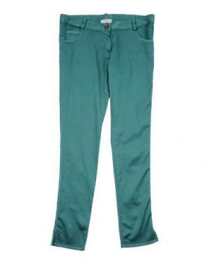 Повседневные брюки AMELIA. Цвет: цвет морской волны