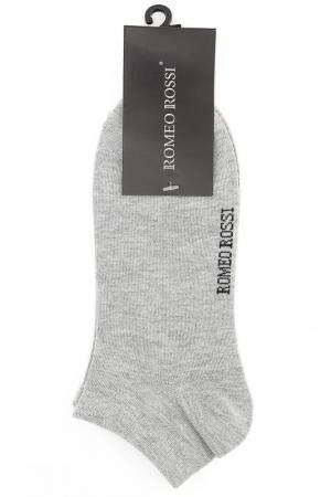Носки ROMEO ROSSI. Цвет: серый