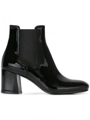 Лакированные ботинки Le Silla. Цвет: чёрный