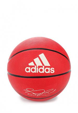 Мяч баскетбольный adidas Performance. Цвет: красный