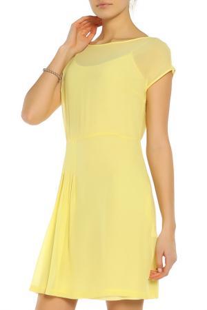 Свободное платье с коротким рукавом RED Valentino. Цвет: 836