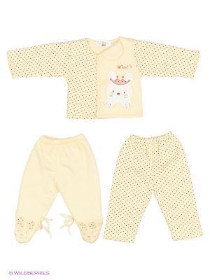 Комплект одежды Happy Bear. Цвет: желтый