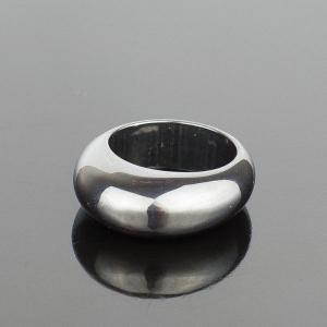 Перстень Классика Гематит, арт. кп-4613 Бусики-Колечки. Цвет: серый