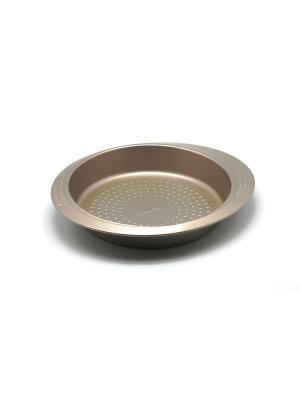 Форма для выпечки кругл 26 см Zanussi. Цвет: бронзовый