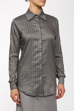 Рубашка WOLF EMPIRE. Цвет: серый