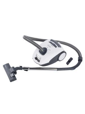 Пылесос FIRST 5500-2 White, мешковый, мощность 1600 Вт, пылесборник емкостью 2.5 л. Цвет: белый