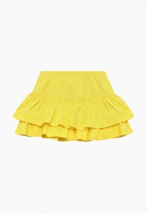 Юбка Modis. Цвет: желтый