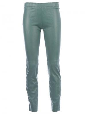 Укороченные брюки Stouls. Цвет: none
