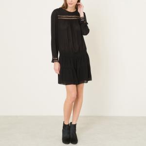 Платье JOLI DRESS BA&SH. Цвет: черный